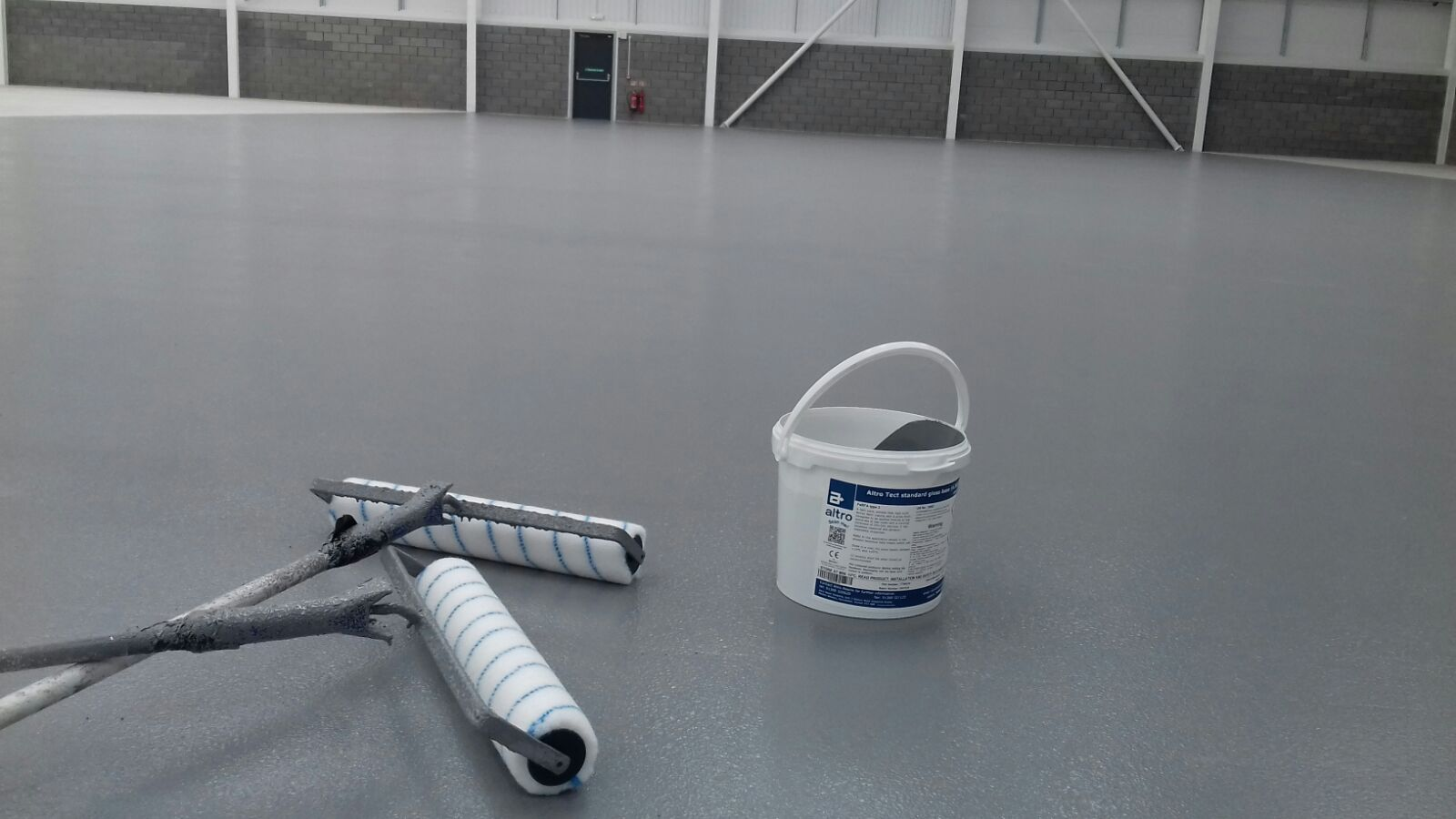 Altro Tect Plus Slip Resistant Epoxy Coating