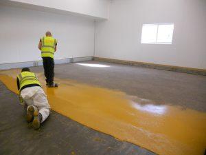 Ucrete DP20 heavy duty slip resistant resin floor