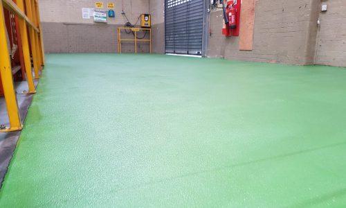 Pumadur slip resistant polyurethane resin
